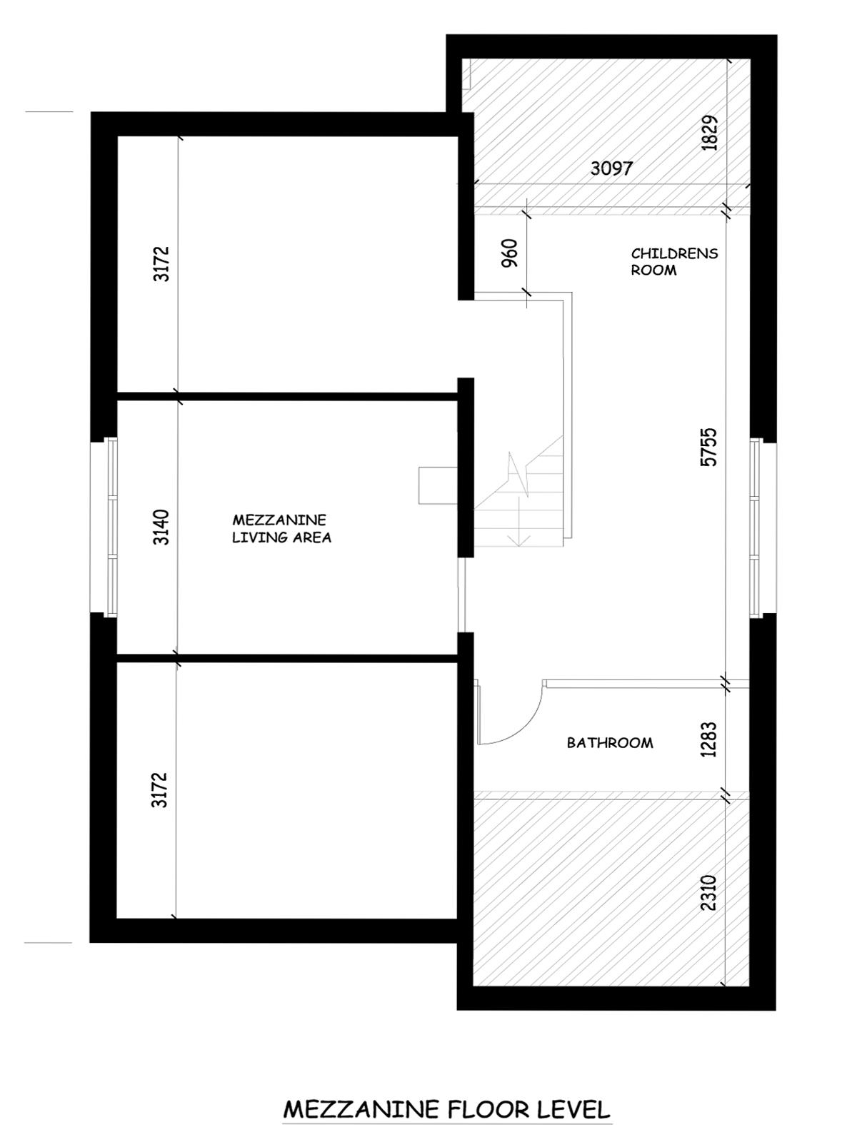 floor plans the mountain whisper luxury ski chalet mezzanine floor plan